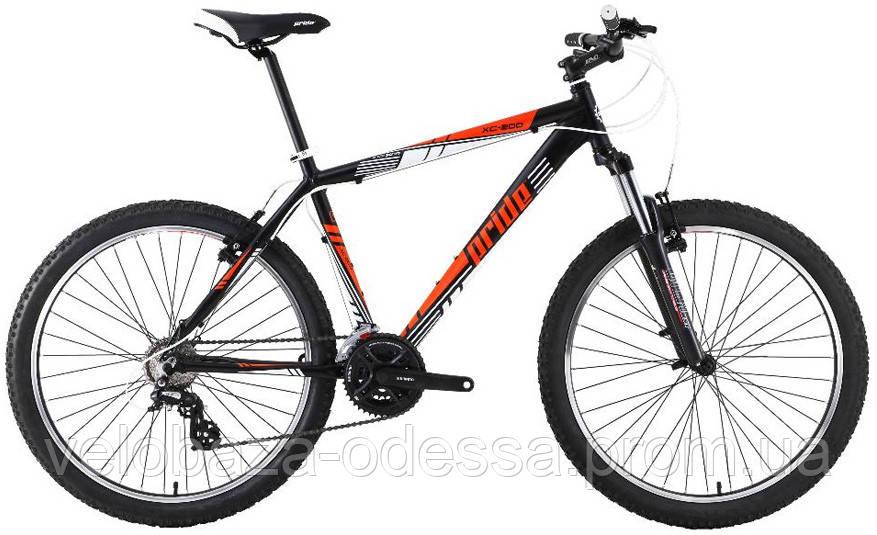 """Велосипед 26"""" Pride XC-200 рама - 19"""" черн-оранж 2013"""
