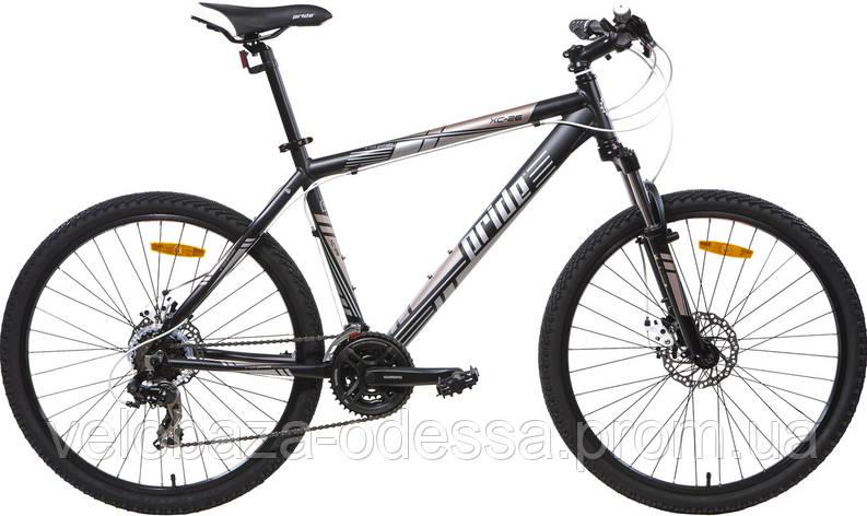 "Велосипед 26"" Pride XC-26 MD рама - 17"" черн. (диск механ) 2013, фото 2"