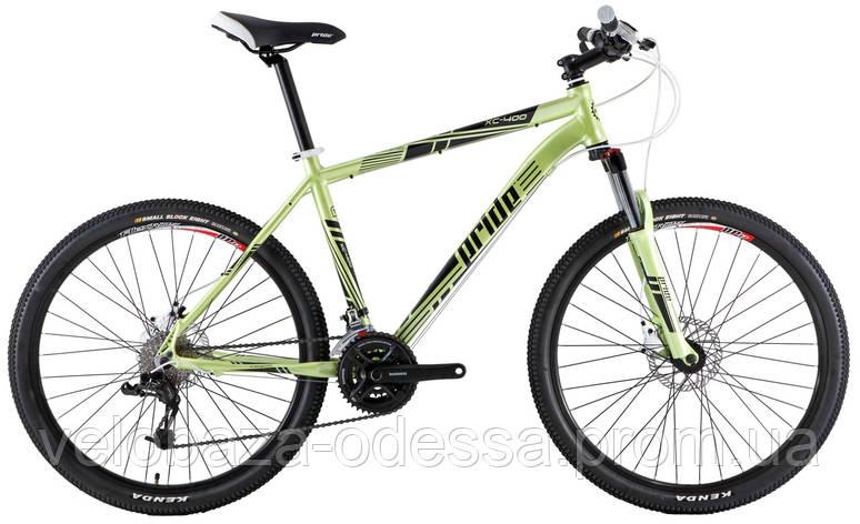 "Велосипед 26"" Pride XC-400 рама - 19"" зелен. (диск гидравл) 2013, фото 2"