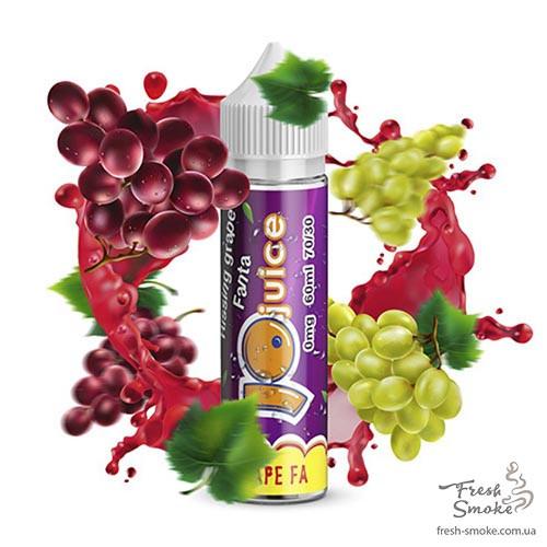 Жидкость для Электронных Сигарет Jo Juice Grape Fa 1.5 мг