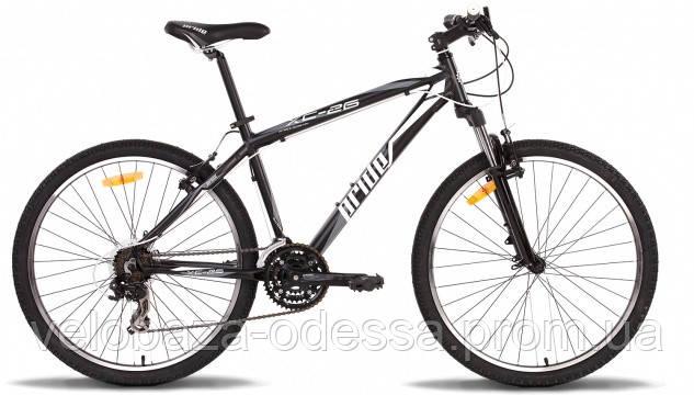 """Велосипед 26"""" Pride XC-26 рама - 21"""" черно-белый матовый 2014, фото 2"""