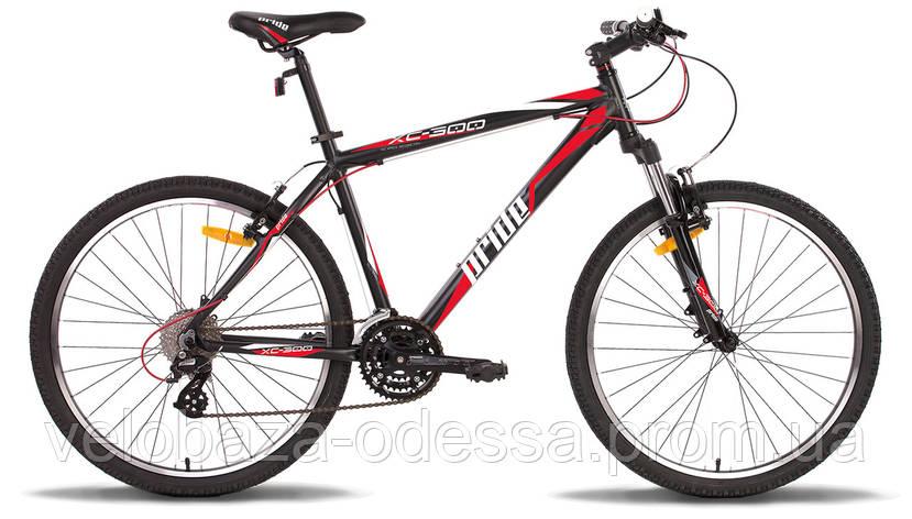 """Велосипед 26"""" Pride XC-300 рама - 21"""" черно-красный матовый 2014, фото 2"""
