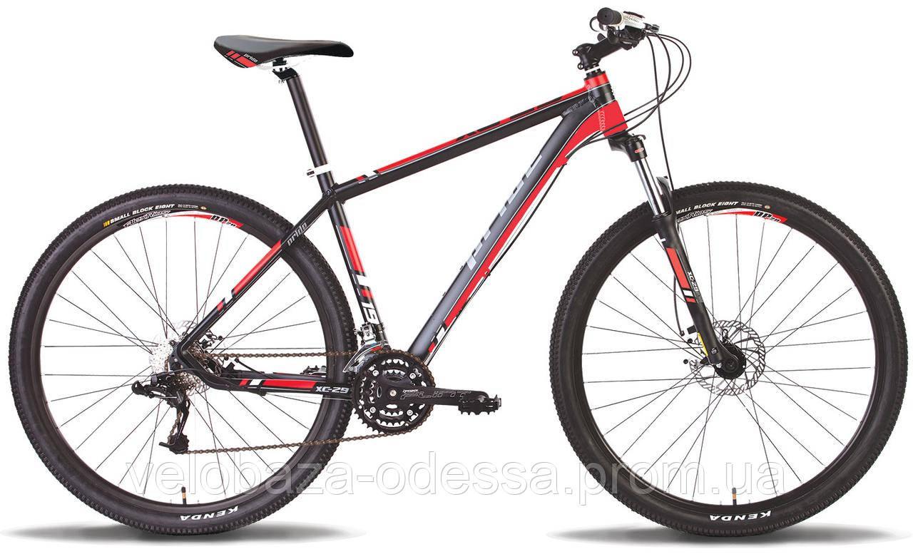 """Велосипед 29"""" Pride XC-29 HD рама - 19"""" черно-красный матовый 2014"""