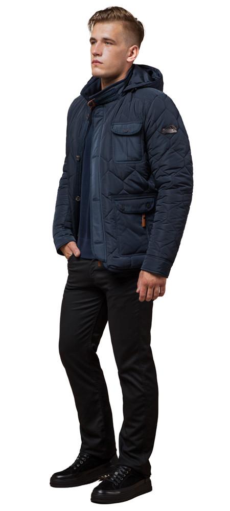 Куртка зимова чоловіча світло-синя модель 2703 розмір 52 (XL)