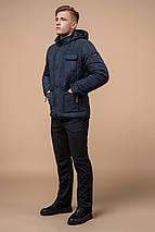 Куртка зимова чоловіча світло-синя модель 2703 розмір 52 (XL), фото 2