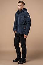 Куртка зимова чоловіча світло-синя модель 2703 розмір 52 (XL), фото 3