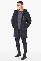 Куртка – воздуховик зимний для мужчин темно-синий модель 38012, фото 3