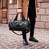 Сумка кожаная мужская бочка mod.Philipp Plein Skill