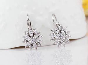 Серьги - подвески серебряные Лика / сережки женские / подарок девушке / подарок на день рождения