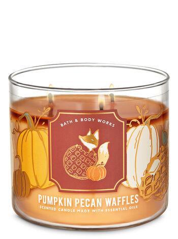 Ароматическая свеча Bath and Body Works Pumpkin Pecan Waffles