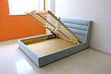 Ліжко Остін в м'якій оббивці, фото 10