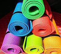 Каримат - коврик яркий, Коврик для йоги и фитнеса / однослойный спортивный коврик для занятий спортом