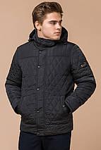 Куртка на зиму чоловіча графітова модель 24534 розмір 46 (S), фото 2