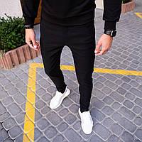 Джинсы мужские Slim черные весенние осенние летние   Джинсовые брюки штаны зауженные ЛЮКС качества