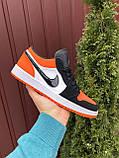 Кроссовки мужские Найк Джордан - Nike Air Jordan 1 Low (верх-кожа, EVA, подошва-резина, цвета в ассортименте), фото 4