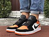 Кроссовки мужские Найк Джордан - Nike Air Jordan 1 Low (верх-кожа, EVA, подошва-резина, цвета в ассортименте), фото 6