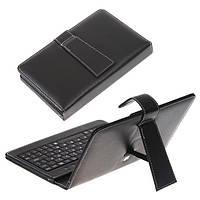 Чехол - клавиатура для планшета 10 дюймов micro USB Black