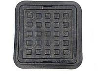 Люк канализационный квадратный 300 мм*300 мм чёрный