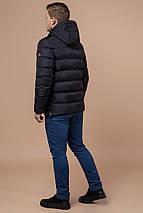 Куртка зимняя на мужчину в чёрном цвете модель 30380 (ОСТАЛСЯ ТОЛЬКО 46(S)), фото 3