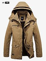 Мужское зимнее пальто. Модель М27-н, фото 4
