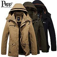 Мужское зимнее пальто. Модель М27-н, фото 3