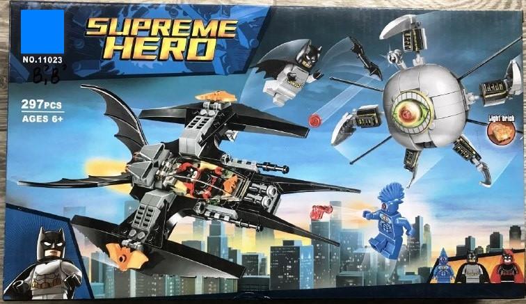 Конструктор 11023 Супергерої Бетмен Ліквідація Ока брата 297 деталей