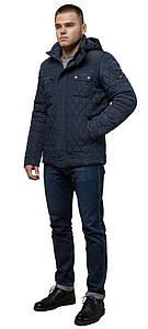 Стильная куртка для зимы мужская светло-синяя модель 1698