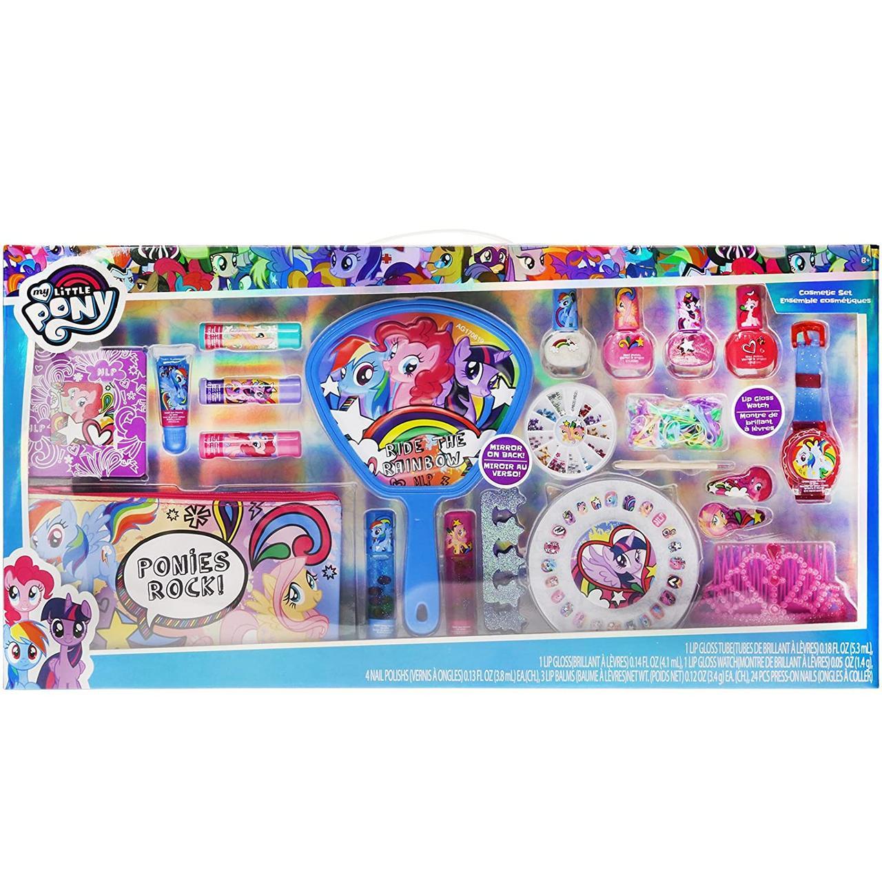 Косметика для девочки Литл Пони с 5 лет Оригинал из США My Little Pony