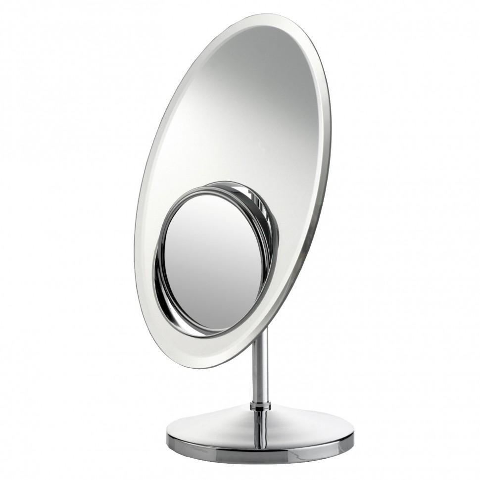 Косметическое зеркало с оборотной увеличительной частью