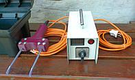 Електрический прибор для оглушения свиней перед забоем.