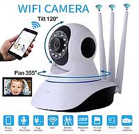 Видеоняня WIFI камера видеонаблюдения WIFI ночная сьемка три антены видеоняня радионяня