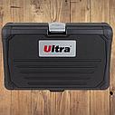 """Автомобильный набор инструментов для авто кейсы. Набор насадок торцевых и бит 1/4"""" 46шт CrV ULTRA (6003162), фото 6"""