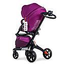 Универсальная коляска 2 в 1 Dsland Xplory V8 фиолет, фото 6