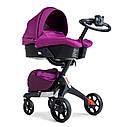 Универсальная коляска 2 в 1 Dsland Xplory V8 фиолет, фото 3