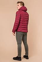 Бордовая мужская куртка на зиму модель 40962 (ОСТАЛСЯ ТОЛЬКО 50(L)), фото 3