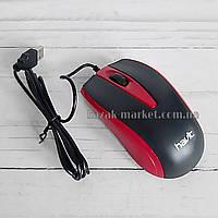 Проводная компьютерная мышь HAVIT HV-MS871 / Мышь для пк / Комп мышь / Мышка для компьютера