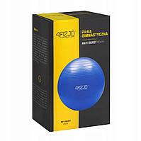 Мяч для фитнеса фитбол 4FIZJO 65 см Anti-Burst Blue ALMA-41-238063