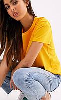 Футболка женская DNK MAFIA жёлтая