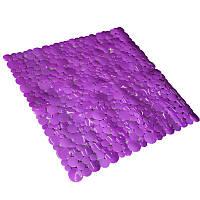 Коврик в ванную комнату Bathlux Flor de clasico 40265 антискользящий резиновый 53х53 см ALMA-11-132572