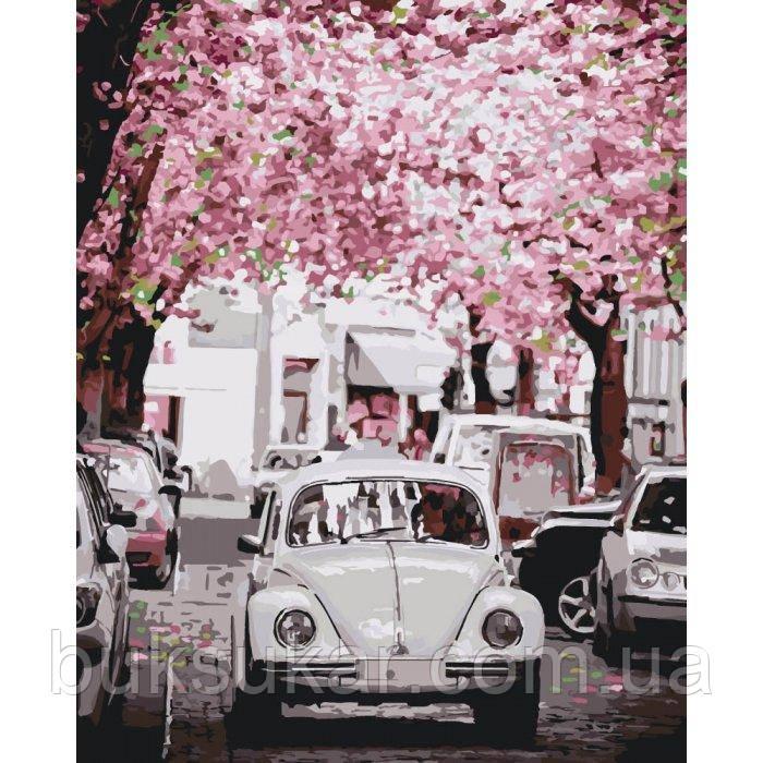 """Картина по номерам """"  Volkswagen Beetle """""""