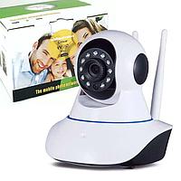 Відеоняня WIFI камера відеоспостереження WIFI нічна зйомка три антени відеоняня радіоняня