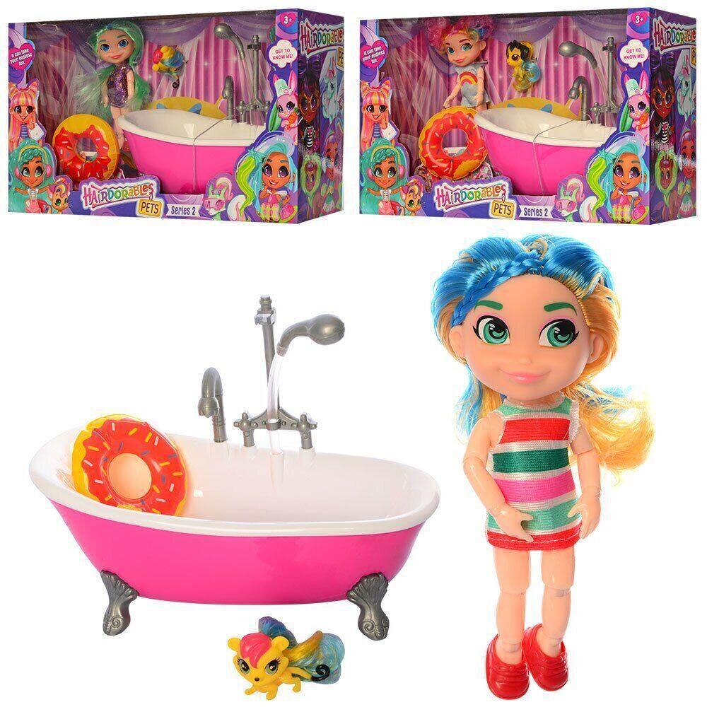 "Игровой набор Кукла HD ""Hairdorables"" на шарнирах (аналог) TM223"