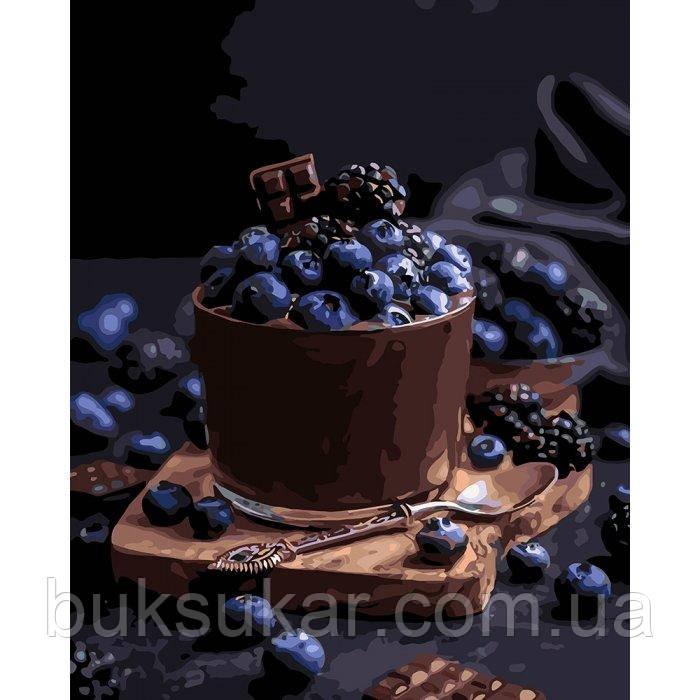 "Картина по номерам "" Спокусливий десерт """