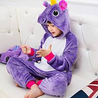Детский Карнавальный Костюм Кигуруми, Пижама кингуруми Единорог для детей на взрослых детские пижамы для сна