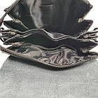 Многосекционная сумка с кожаным клапаном, средняя, фото 4