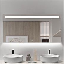 Зеркало DUSEL LED DE-M3021 120смх75см сенсорное включение+подогрев