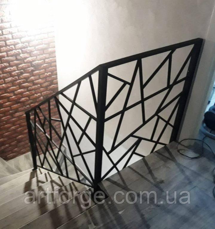 """Перила из металла. Лестница в стиле """"Лофт"""""""