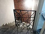 """Перила из металла. Лестница в стиле """"Лофт"""", фото 2"""