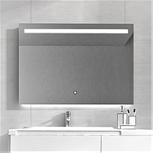 Зеркало DUSEL LED DE-M3021 90смх70см сенсорное включение+подогрев
