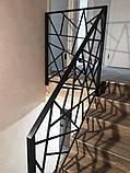 """Перила из металла. Лестница в стиле """"Лофт"""", фото 4"""